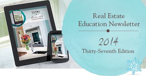 Real Estate Education Newsletter | 2014 Thirty-Seventh Edition